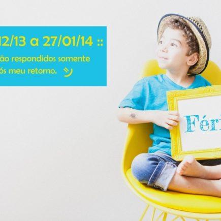 :: Enfim…férias! | Fotografia Infantil em BH ::